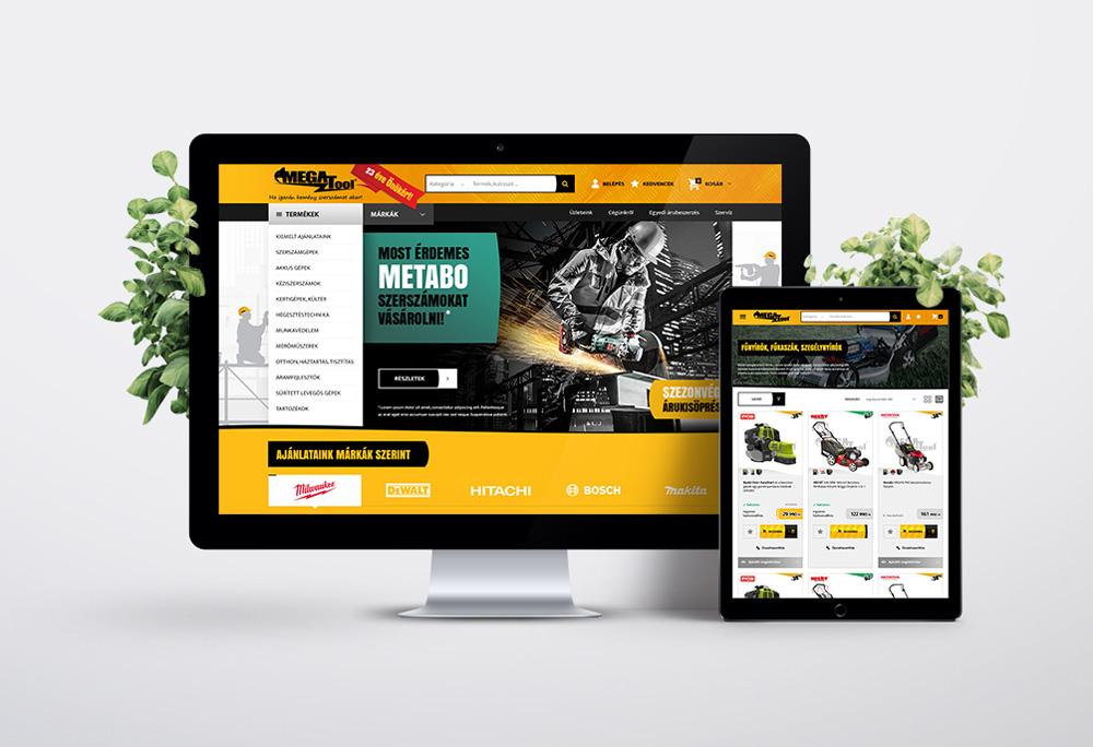 Megatool webshop