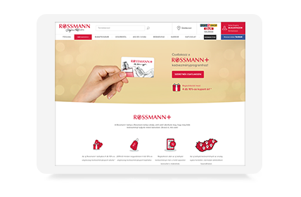 Magento development and system integrations for Rossmann Hungary