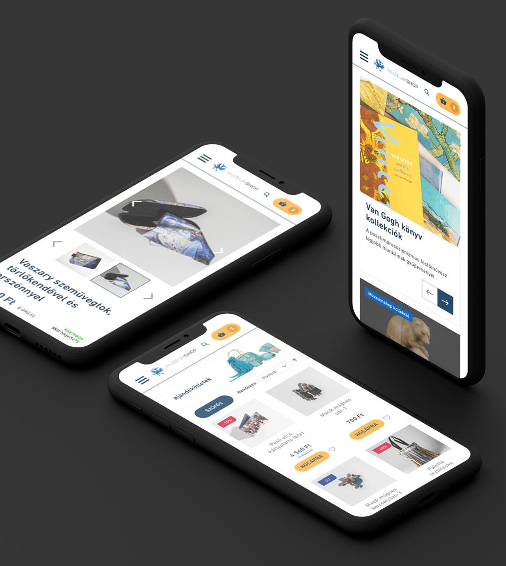 MúzeumShop webshop