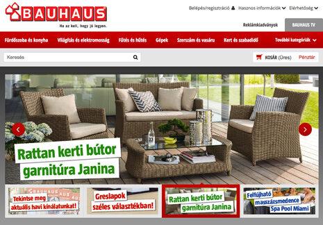 Bauhaus webshop