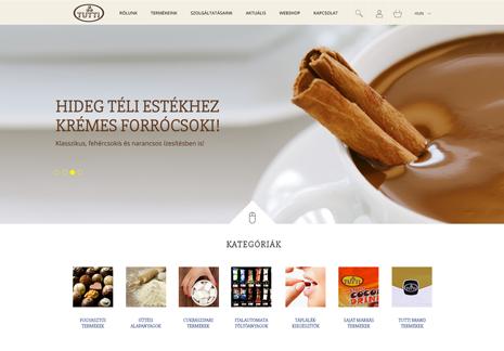 TUTTI webshop