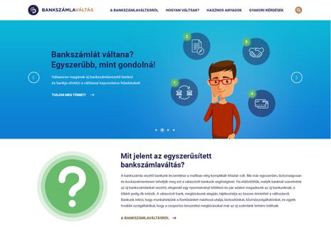 Bankváltás site